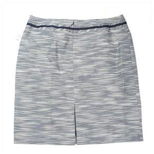 ANTONIO MELANI Skirts - Antonio Melani Elba Navy Striped Pencil Skirt NWT
